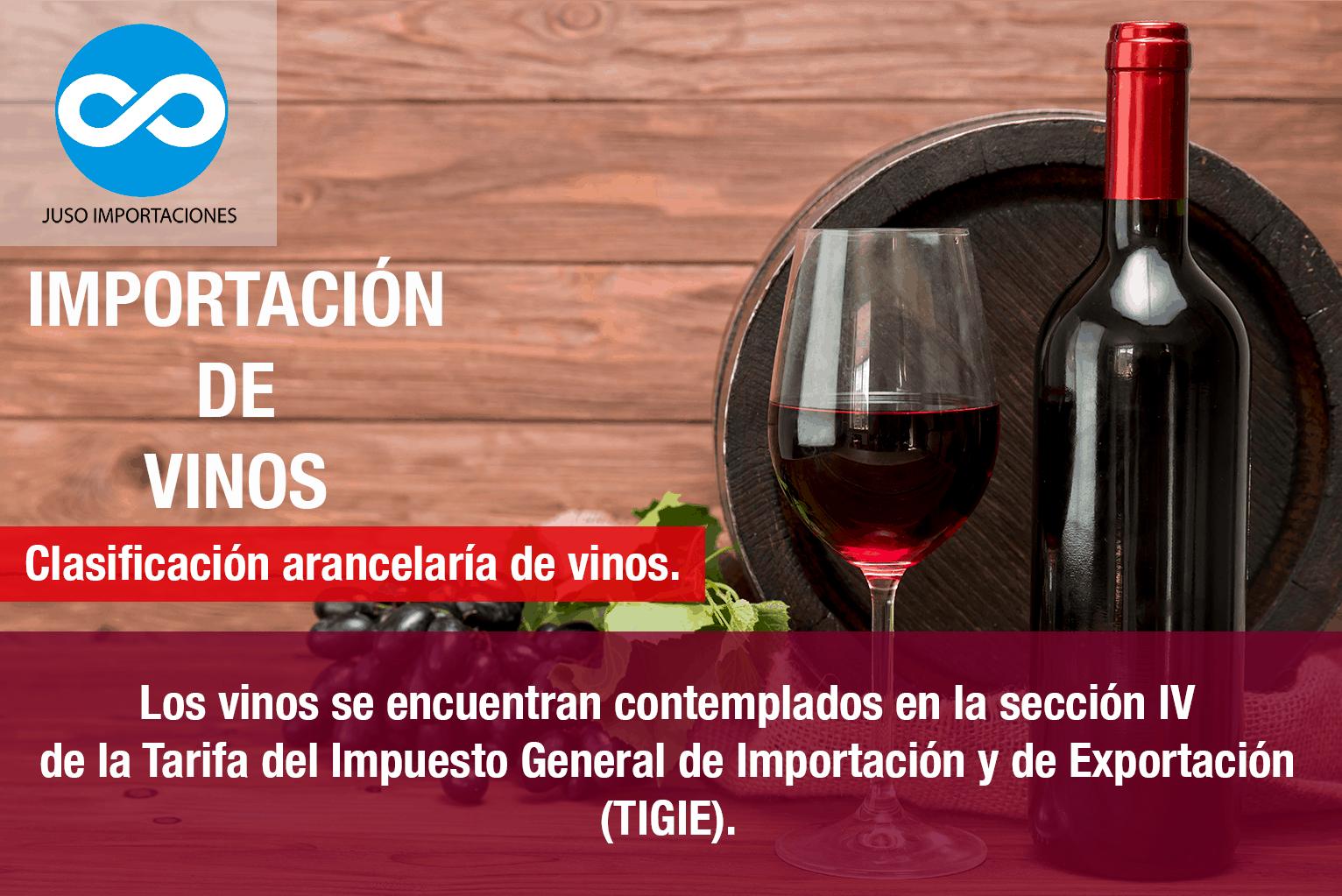 Agencia Adunal Juso Importaciones México padrón de importaciones para vinos