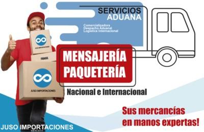 agencia aduanal juso impo paqueteria