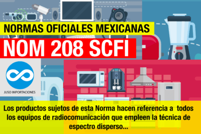 Agencia Aduanal Juso normas oficiales mexicanas