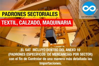 Agencia Aduanal Juso Padrones Sectoriales México