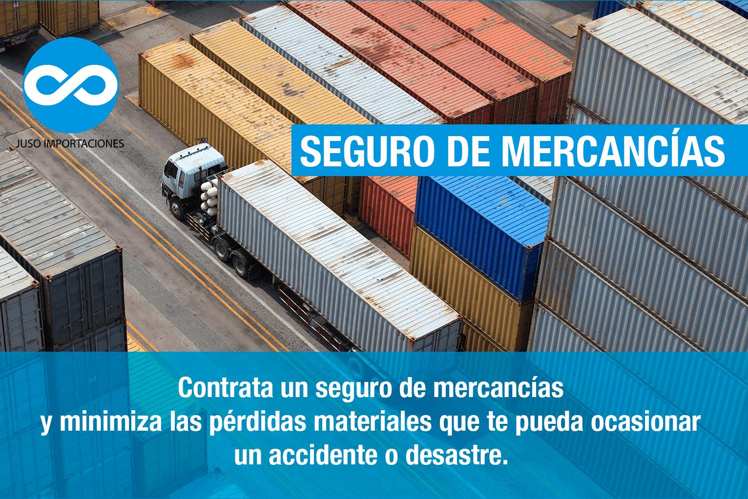 Agencia Aduanal Juso seguros para mercancías