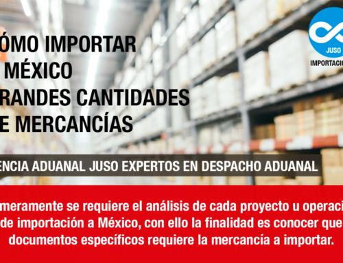 CÓMO IMPORTAR A MÉXICO GRANDES CANTIDADES DE MERCANCÍAS